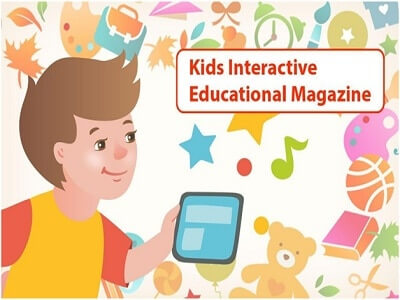 Educational magazine for kids