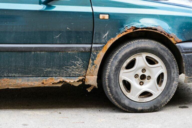 Rust On A Car