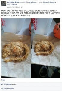 KFC Deep Fried Rat-Debunked