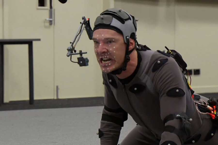 "This Is How Benedict Cumberbatch Became A Dragon in ""The Hobbit: The Desolation of Smaug"""