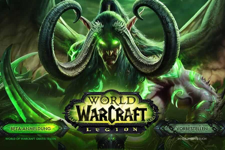 World of Warcraft: Legion Expansion Unveiling Beta This ...