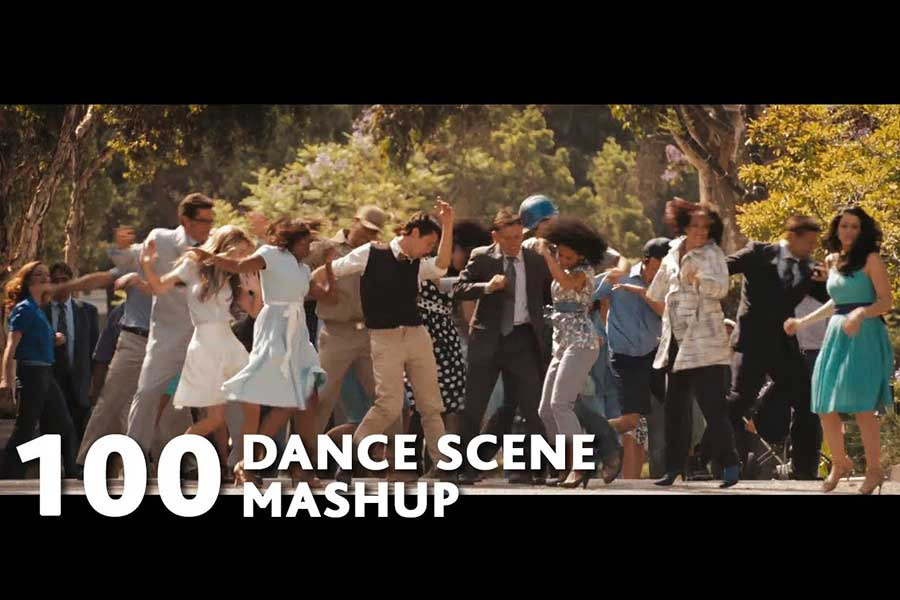 100 Dance Movies Mashup for Uptown Funk ft.Bruno Mars
