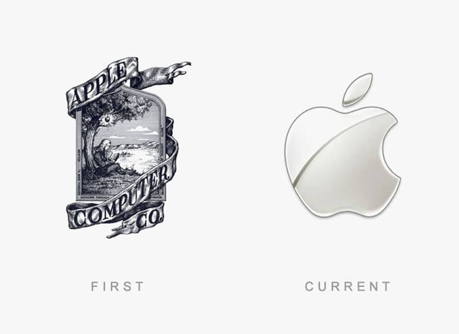 15 World Famous Company Logo Then and Now