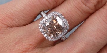 How to Select Cushion Cut Diamond Engagement Ring