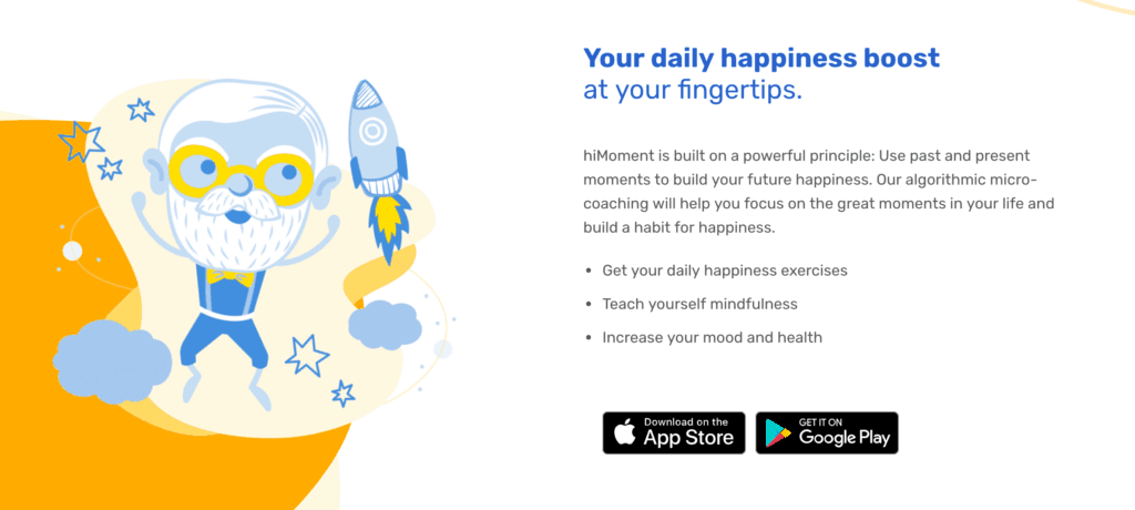hiMoment: The Best Gratitude Journaling App for a Better Life
